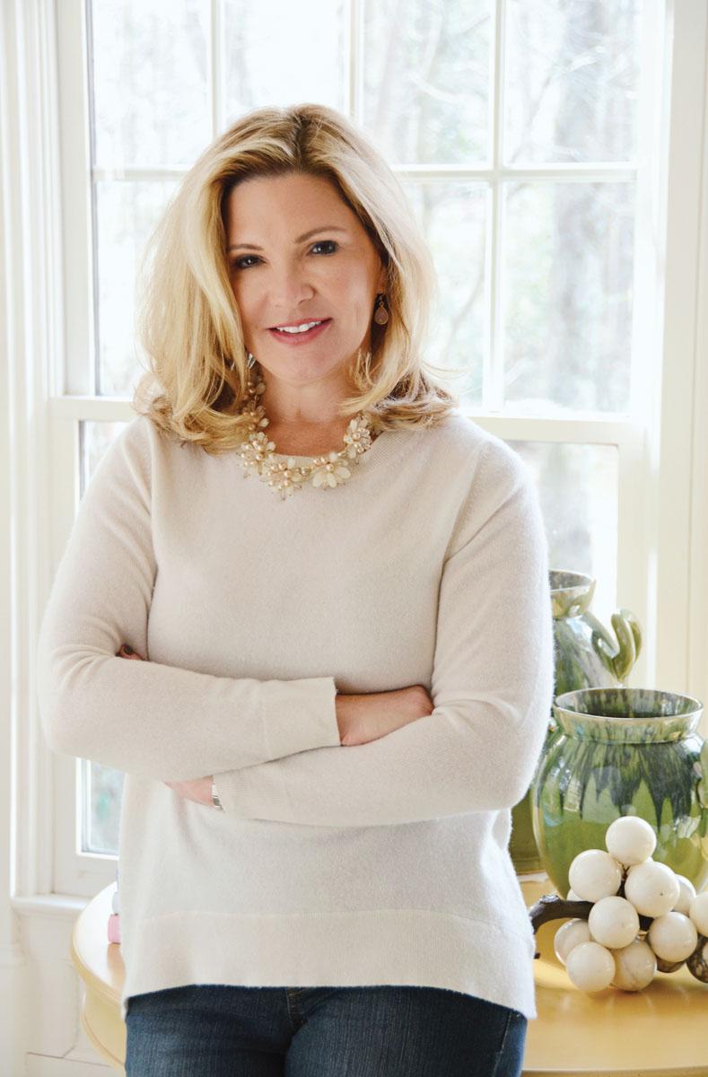 Designer Pamela Harvey.