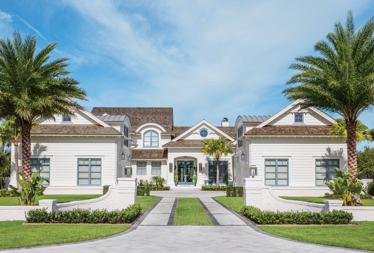 This Ponte Vedra Beach home exudes laid-back luxury with a cool coastal feel.