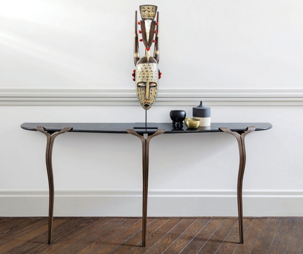 Dennis Miller Horta console table, Global Influence_FD31-1B