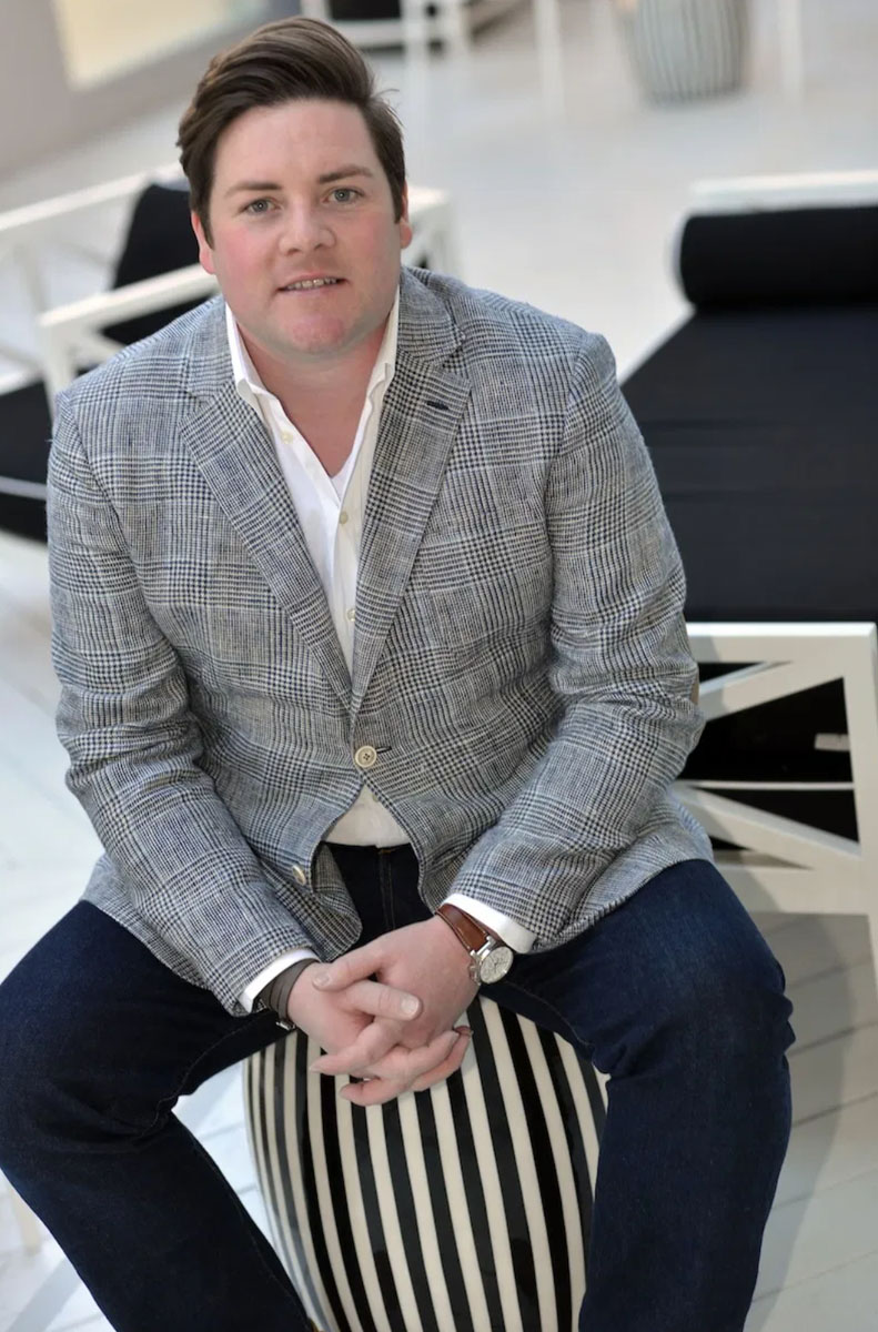 Nashville and now Palm Beach designer Jonathan Savage. Photo by Peyton Hoge