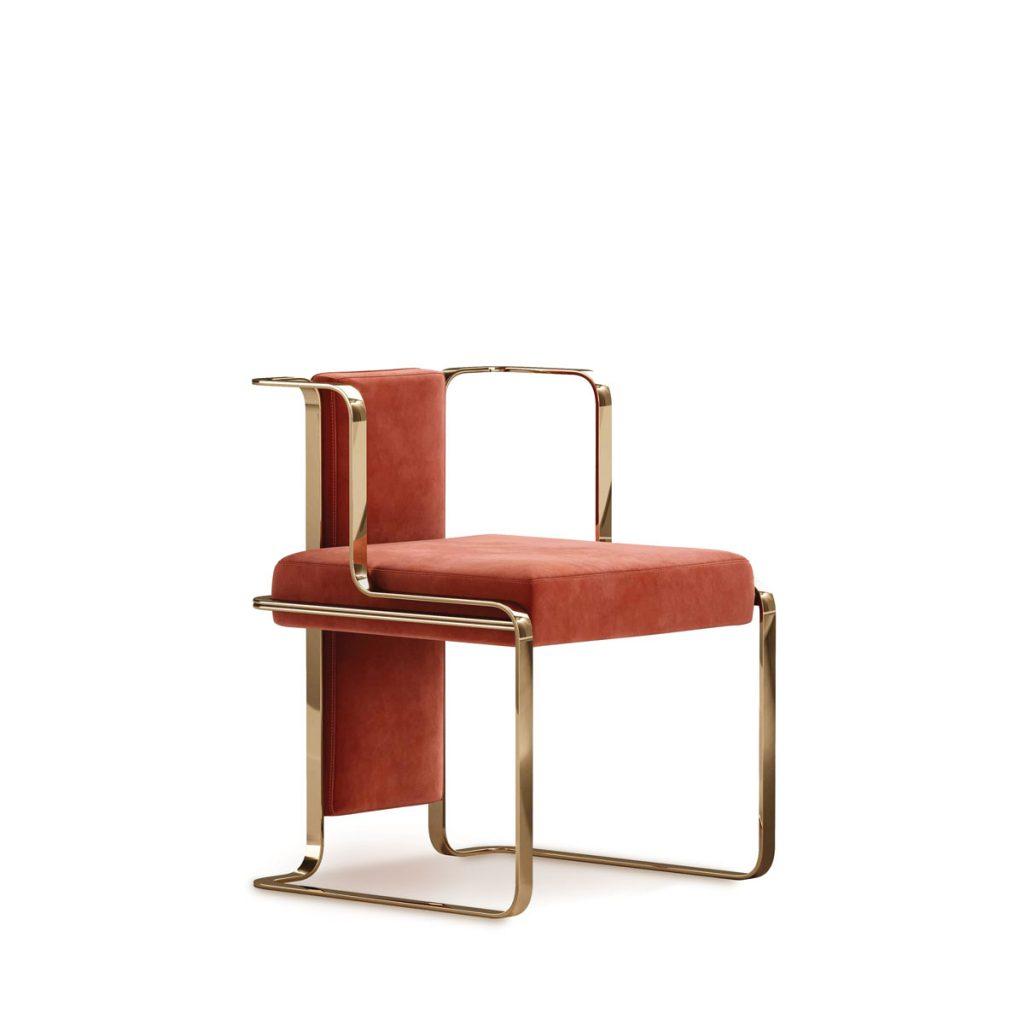 Mezzo Collection dining chair Shiny Objects_FD31-1E