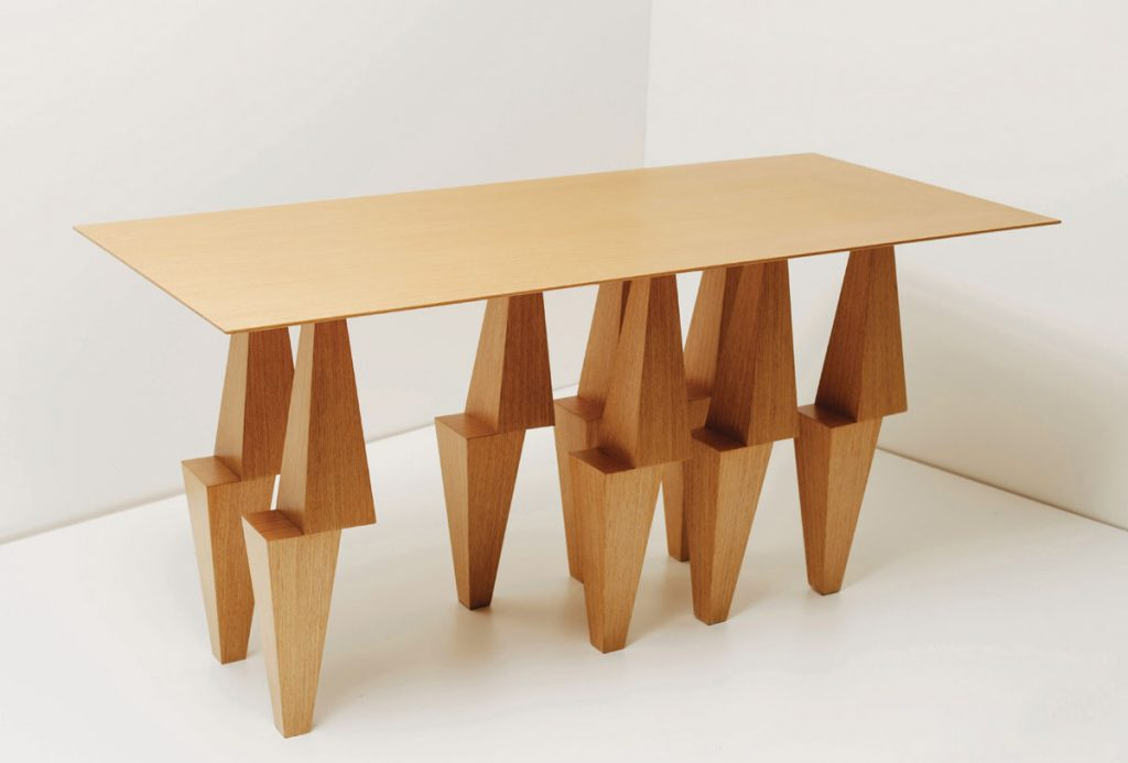 Bold Pyramid table from Ana Volonte Studio, Sculptural Pieces_FD31-1D