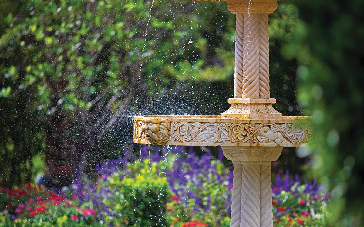 Fountain at Cummer Museum & Gardens