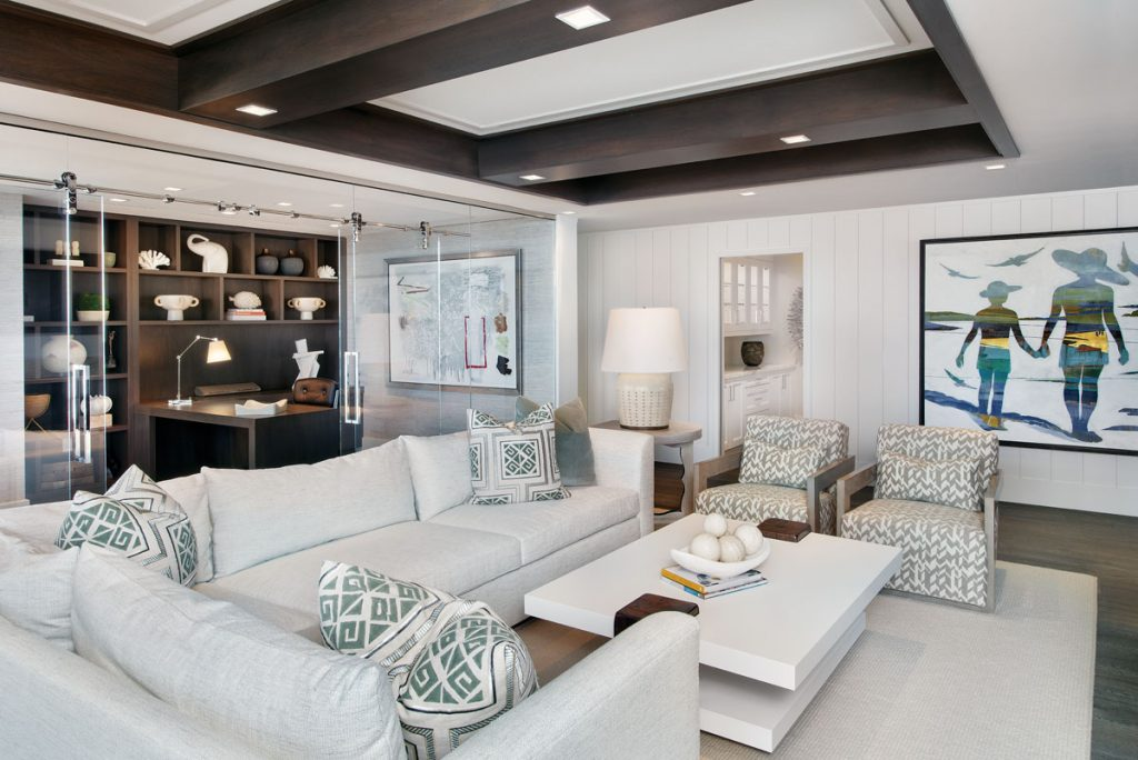 Interior living room space by Wendy Berry