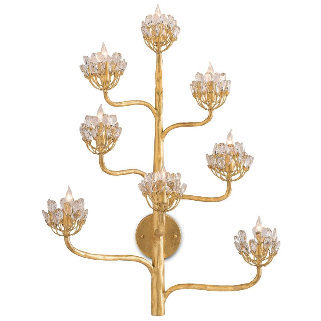 Capitol Lighting's Currey & Company's Agave Americana sconce, Bath Deluxe_FD31-2C